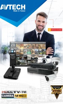 E-Catalogue Camera Avtech Năm 2018