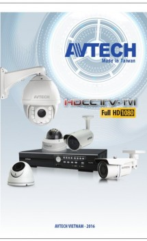 E-Catalogue AVTECH Năm 2016