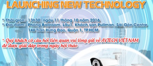 Avtech Serminar about: LAUNCHING NEW TECHNOLOGY